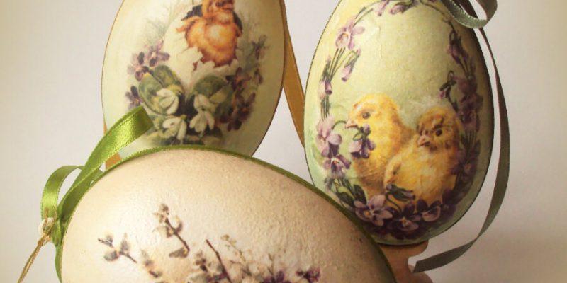 Что такое яичный декупаж